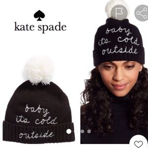 Kate Spade Baby It's Cold Outside Beanie NWT